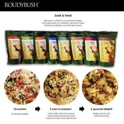 Roudybush Soak and Feed Treats