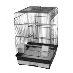 "Flat Top TALL Cage (1 BK/ 1 PW) 2 Pack of 18""x18"""