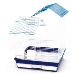 "4 Pack of 18""x18"" House Top Cage (2 BK/ 2 PW)"