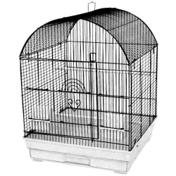 """4 Pack of 18""""x14"""" Round Top Cage (2 BK/ 2 PW)"""