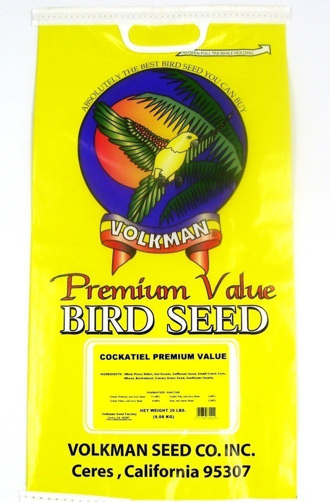 Volkman Seed Premium Value Cockatiel Mix (20lb)