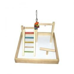 """17""""x17""""x12"""" Wood Tabletop Play Station"""