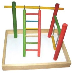 """20""""x15""""x14"""" Wood Tabletop Play Station"""