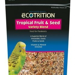 8 in 1 Ecotrition Tropical Fruit & Seed Variety Blend for Parakeets (8oz)
