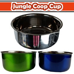 30oz Coop Cup with Ring & Bolt - color box (Stainless Steel)
