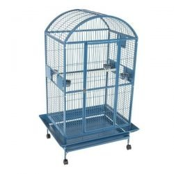 "40""x30"" Dome Top Cage in Stainless Steel"