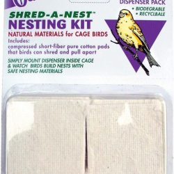 Oasis Shred-a-Nest Nesting Kit for Cage Birds