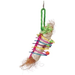 Tropical Teasers Rings of Fire Bird Toy