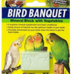 Zoo Med Bird Banquet Block Veggie Formula Small