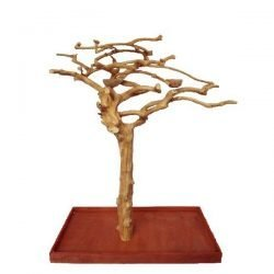 Small Java Wood Tree (48x24x66 in)