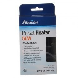 Aqueon Preset Aquarium Heater (200 Watt (Aquariums up to 75 Gallons))