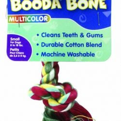 Booda 2-Knot Rope Bone Multi-Color Small