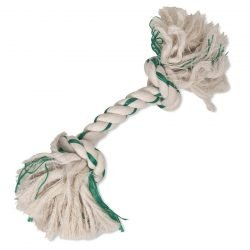 Booda Fresh N Floss 2-Knot Rope Bone Spearmint Medium