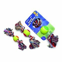 Booda Tennis Ball N Bone Medium