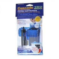 Cascade 150/200 Disposable Floss & Carbon Power Filter Cartridges (3 Pack)