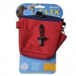 Company of Animals Clix Red Treat Bag