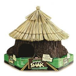 "Ecotrition 100% Edible Snak Shak Natural Hide Away (Small (5"" Diameter x 7"" Tall x 1.75"" Opening))"