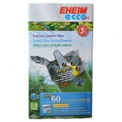 """Eheim Ecco Pro Easy External Canister Filter (198 GPH - Tanks up to 80 Gallons - (8""""W x 16.3""""H))"""