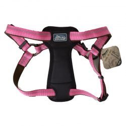 K9 Explorer Reflective Adjustable Padded Dog Harness - Rosebud (