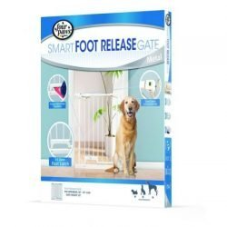 Four Paws Smart Foot Release Gate - Metal