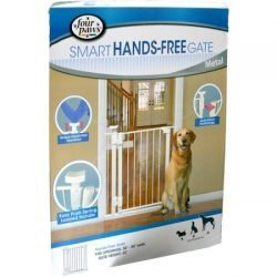 Four Paws Smart Hands Free Gate - Metal