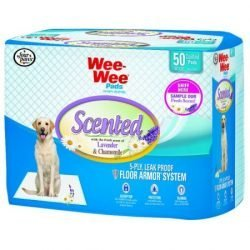 Four Paws Wee-Wee Pads - Lavender & Chamomille Scented