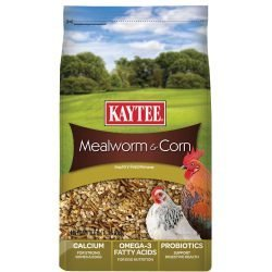 Kaytee Mealworms and Corn Poultry Supplement (3lb)