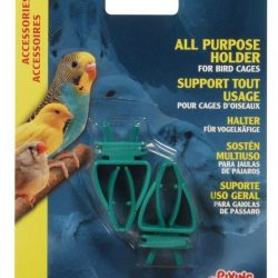 Living World All Purpose Holder for Bird Cages - Plastic  (All Purpose Holder)