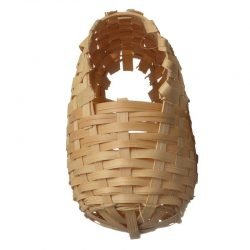 "Living World Bamboo Finch Nest  (Small (3-7/8"" Long x 3-7/8"" Wide))"