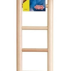 """Living World Wood Ladders for Bird Cages (12.5"""" High - 7 Step Ladder)"""