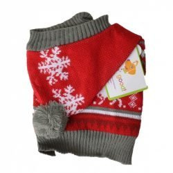 Lookin Good Holiday Dog Sweater – Red