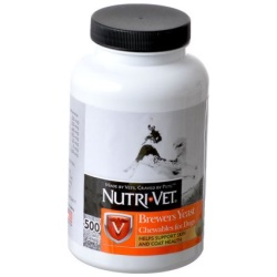 Nutri-Vet Brewers Yeast Flavored with Garlic  (500 Count)