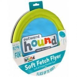 "Outward Hound Soft Fetch Flyer Dog Toy  (Large - 1 Count - (10"" Diameter))"