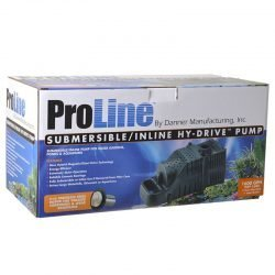 Pondmaster ProLine Submersible/Inline Hy-Drive Pump  (2600 GPH with 20' Cord)