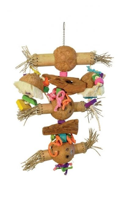 Prevue Pet Products Bodacious Bites Bamboo Shoots Bird Toy