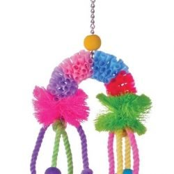 Prevue Pet Products Calypso Creations Over the Rainbow Bird Toy