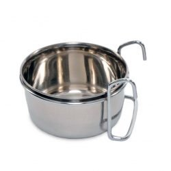 Prevue Pet Products Stainless Steel Coop Cup with Hanger (10oz)