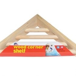 Prevue Pet Products Wood Corner Ladder Platform