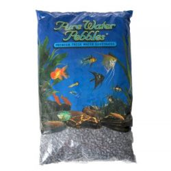 Pure Water Pebbles Premium Fresh Water Substrates Black Frost 5lb