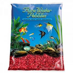 Pure Water Pebbles Premium Fresh Water Substrates Currant Red 25lb