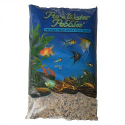 Pure Water Pebbles Premium Fresh Water Substrates Rainbow Gems 5lb