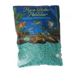 Pure Water Pebbles Premium Fresh Water Substrates Turquoise 5lb