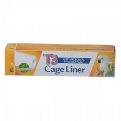 """Prevue T3 Antimicrobial Bird Cage Liners (9""""W x 25'L)"""