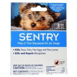 Sentry Flea & Tick Squeeze-On for Dogs