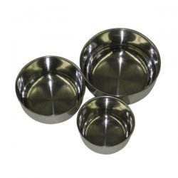 """Stainless Steel 5"""" Bowls"""