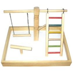 Wood Tabletop Play Station