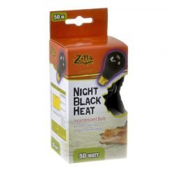 Zilla Night Time Black Light Incandescent Heat Bulb (75 Watts)