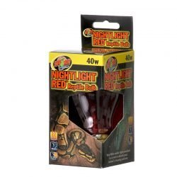 Zoo Med Nightlight Red Reptile Bulb (40 Watts)