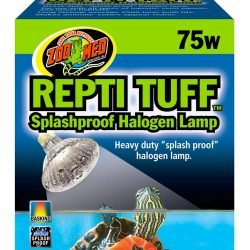 Zoo Med Turtle Tuff Splashproof Halogen Lamp (75 Watts)