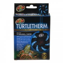 Zoo Med Turtletherm Automatic Preset Aquatic Turtle Heater (100 Watt (Up to 30 Gallons))